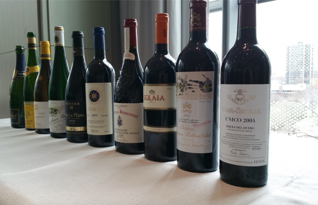 Primum Familiae Vini tasting at Toronto's Four Seasons Hotel, April 23rd, 2015