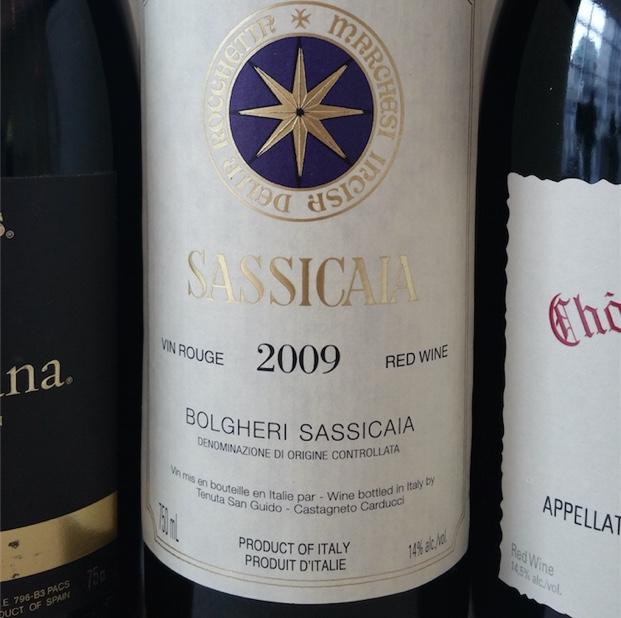 Sassicaia 2009