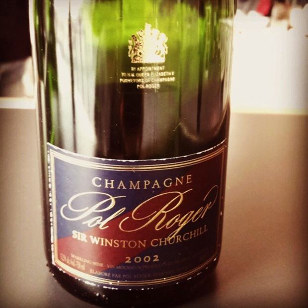 Super #champagne overture. I will always surrender. @Pol_Roger #sirwinstonchurchill 2002 #primumfamiliaevini