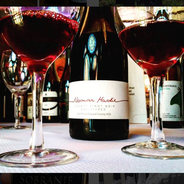 Humility only exceeded by impossibility @normhardie #pec #countyinthecity Pinot Noir 2014