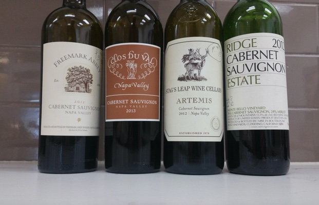 The Cabernets of the Judgement of Paris 1976