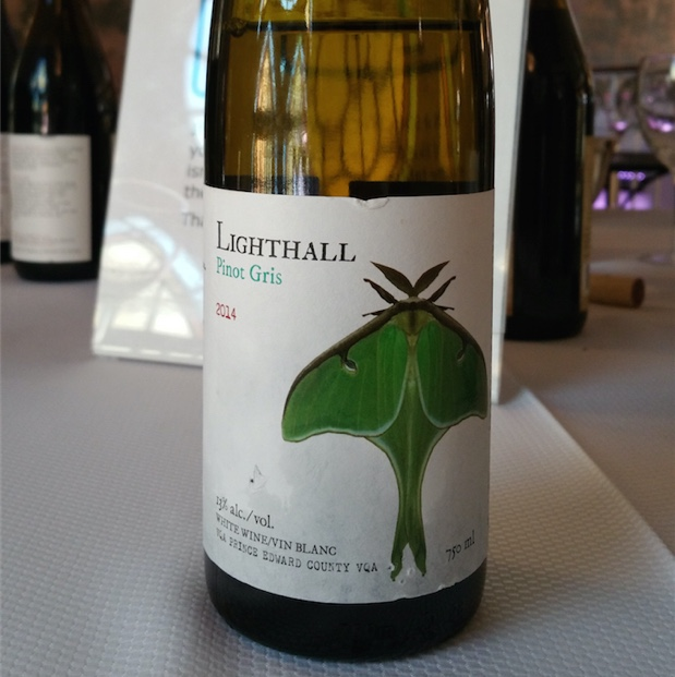 Lighthall Pinot Gris 2014