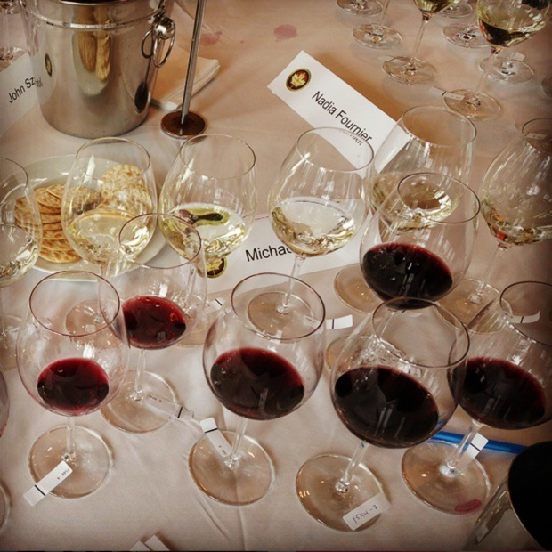 Sea of #schottzwiesel via @FortessaCanada #NWAC15