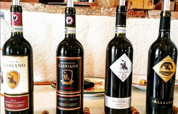 Ambassadors of @chianticlassico to the world. 2013 #castellodigabbiano #granselezione (not pictured) will blow your mind #treasurywineestates #sancascianovaldipesa #ilbellezza #chianticlassicoriserva