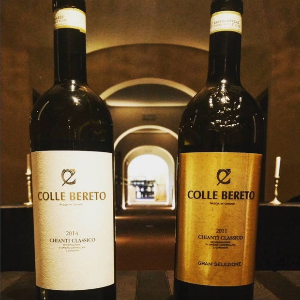 At the intersection of @chianticlassico and #singlevineyard there is #granselezione #collebereto
