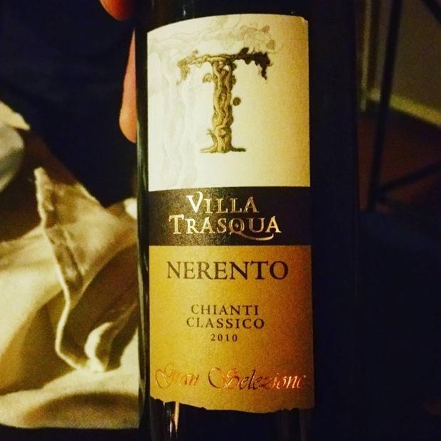 È vero, a special vineyard #VillaTrasqua @chianticlassico #castellinainchianti #montereggioni #granselezione