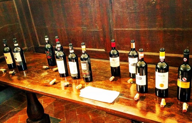 Selection of #granselezione @chianticlassico at the Convento di Santa Maria al Prato #raddainchianti