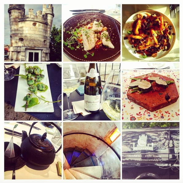Singular setting. Diversified flavours. In a word, merveilleux. @LaFolieAuxerre #julienmartinat #auxerre