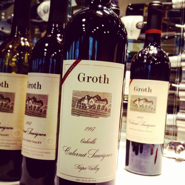 Another @GrothWines question of age with 1997 refusing to grow up @TheVine_RobGroh