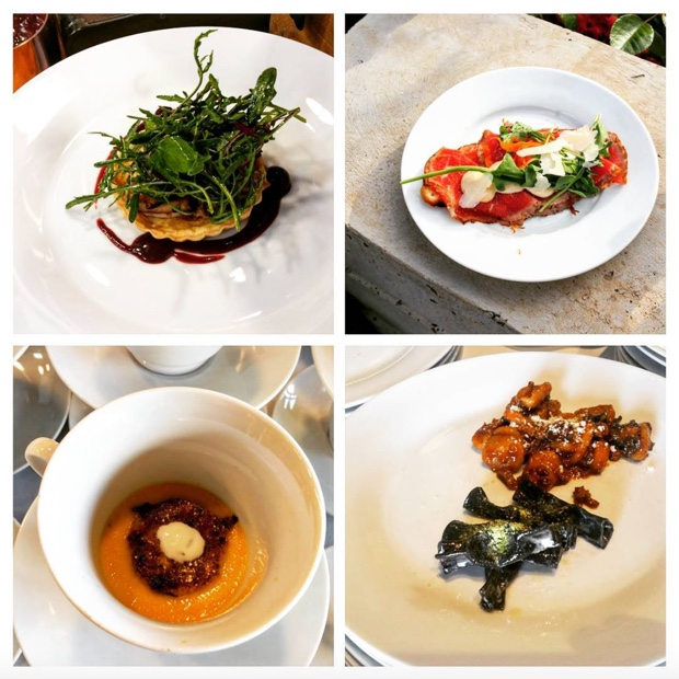 Exceptional eats @CulminaWinery in adroit by @Quintoquorto and @hooydonk_van