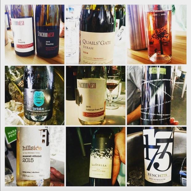 So much @WineBCdotcom amour in the @tantaluswine cellar last night #nwac16