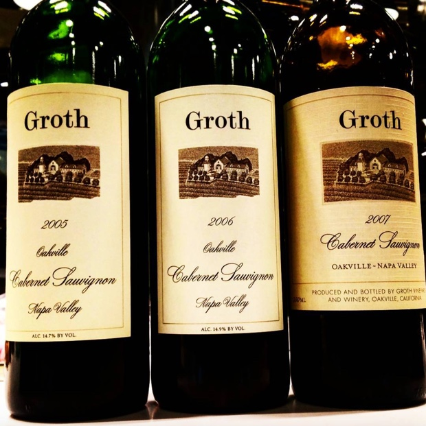 Vintage to vintage nuance and the common thread of %22grothiness,%22 or, @GrothWines in essence @TheVine_RobGroh #suzannegroth #napavalley #oakville #cabernetsauvignon