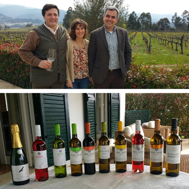 Quinta da Raza hosts and their exceptional value @vinhoverdewines