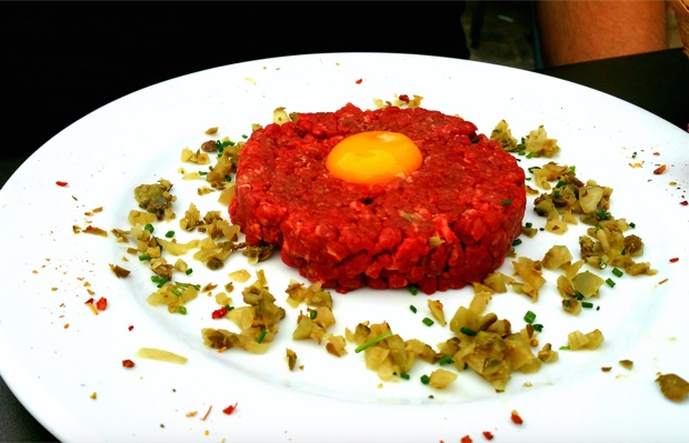Steak Tartare, Bar Le Quai, Auxerre